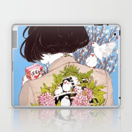 Strawberry Milk Laptop & iPad Skin