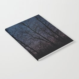 Night forest Notebook