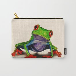 Mr. Ribbit Carry-All Pouch