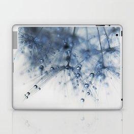 dandelion blue drop Laptop & iPad Skin