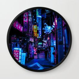 Tokyo's Blade Runner Vibes Wall Clock