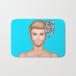 Ken Needs to Talk! Bath Mat