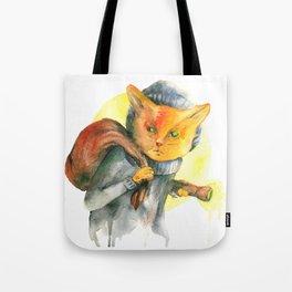 Cat Burglar Tote Bag