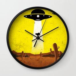 U F O l o g y // by B20200 Wall Clock