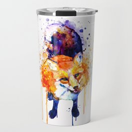 Cute Happy Fox Travel Mug