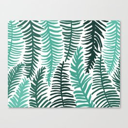 Groovy Palm Canvas Print