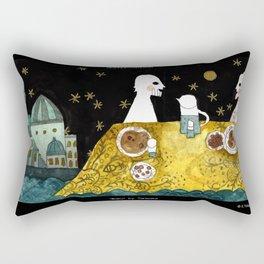 """""""Baku"""" illustration Tarmasz Rectangular Pillow"""