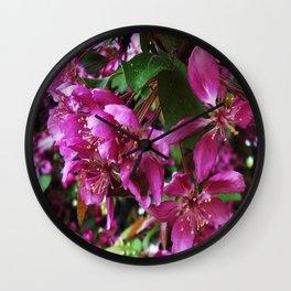 PLUMERA Wall Clock