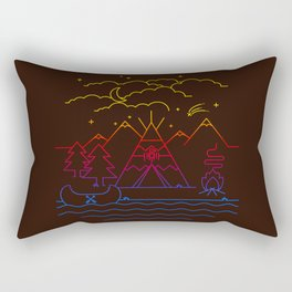 Always Camping Rectangular Pillow