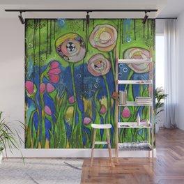 Garden Story Wall Mural
