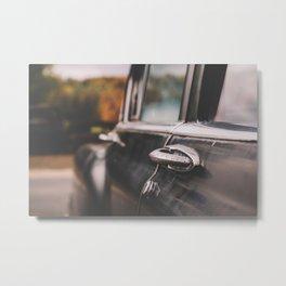 Black Car Metal Print
