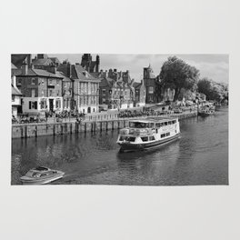 King's Staith beside the river Ouse Rug