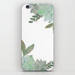 Go & Live a Succulent Life iPhone Skin