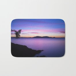 Vibrant Sunset Bath Mat