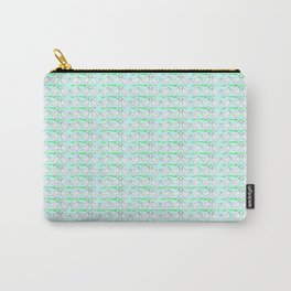 White hen on blue sky Carry-All Pouch