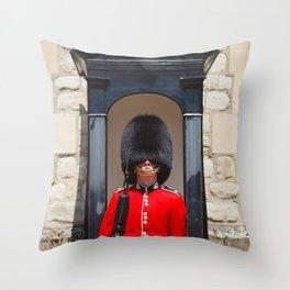 Royal guard Throw Pillow