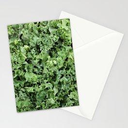 Shredded kale Stationery Cards