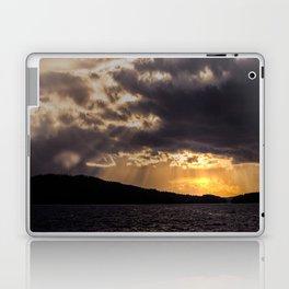 Dramatic change in the weather Laptop & iPad Skin
