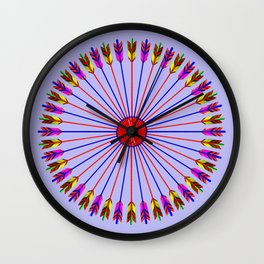 Arrows Design Wall Clock