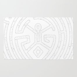Westworld Maze Rug