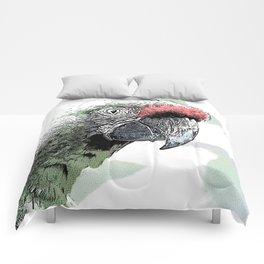 CArt parrot Comforters