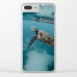 Take a peek Clear iPhone Case