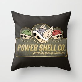 Power Shell Co. Throw Pillow