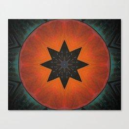 Sol Fire Canvas Print