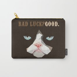 Grumpy Bad Luck Cat Carry-All Pouch