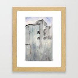 Building No. 3 Framed Art Print