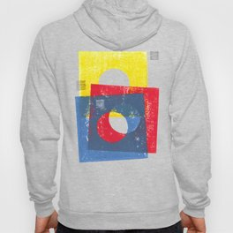 Basic in red, yellow and blue Hoody