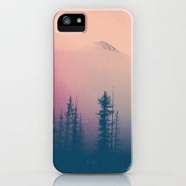 Frozen Forest iPhone Case