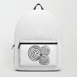 Newgrange Celtic Spiral Backpack