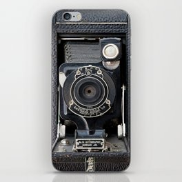 Vintage Autographic Kodak Jr. Camera iPhone Skin