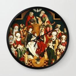 The Holy Kinship Wall Clock