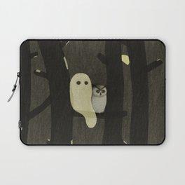 Little Ghost & Owl Laptop Sleeve