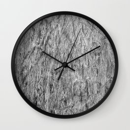 Scratches and scrapes  Wall Clock