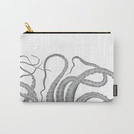 Vintage kraken octopus tentacles nautical antique sea creature steampunk graphic print Carry-All Pouch