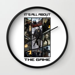 It's All About The Game CS:GO Wall Clock