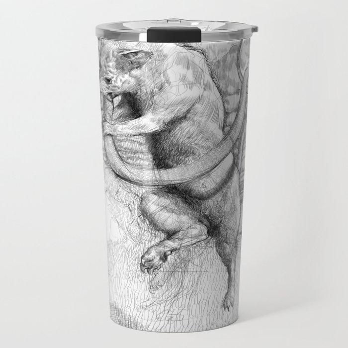 Mongoose and snake Travel Mug