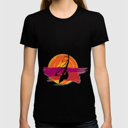 Windsurfing  Surfer  Surf  Surfboard Sailing Gift T-shirt