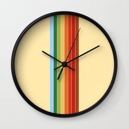 That '70s Rainbow Wall Clock