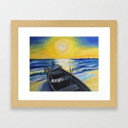 Come Follow Me Framed Art Print