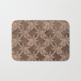 Star Anise Bath Mat
