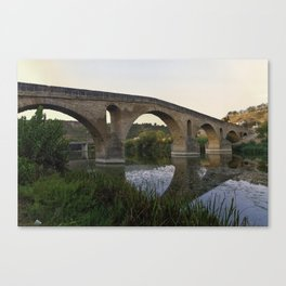 Mediaeval Bridge Canvas Print