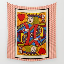 King of Hearts Wall Tapestry