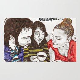 Café Brasilis - Gibberish  Rug