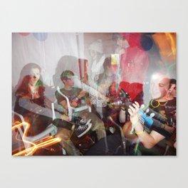 Long Exposure Party Canvas Print