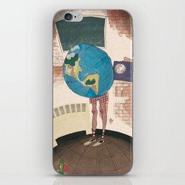 Earth Globe iPhone Skin