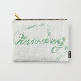 running 2 typography Carry-All Pouch